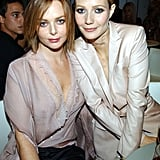 Gwyneth and her longtime friend, fashion designer Stella McCartney, attended the VH1/Vogue Fashion Awards together in October 2001.