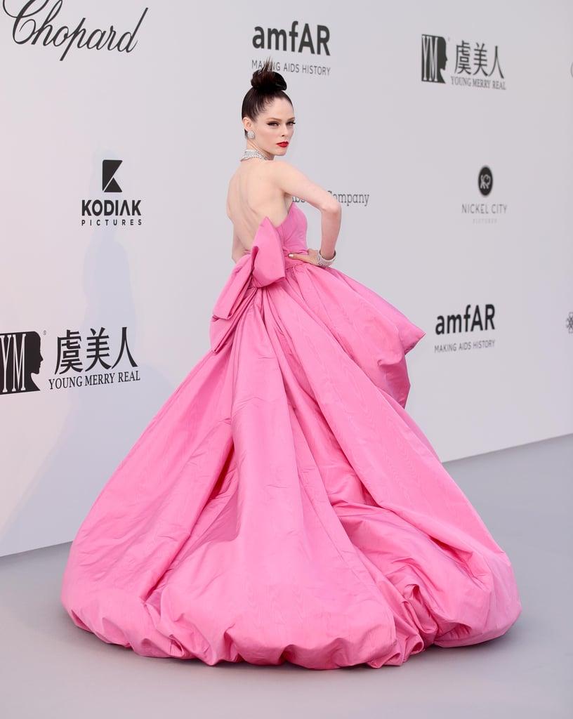 Coco Rocha at the amfAR Cannes Gala