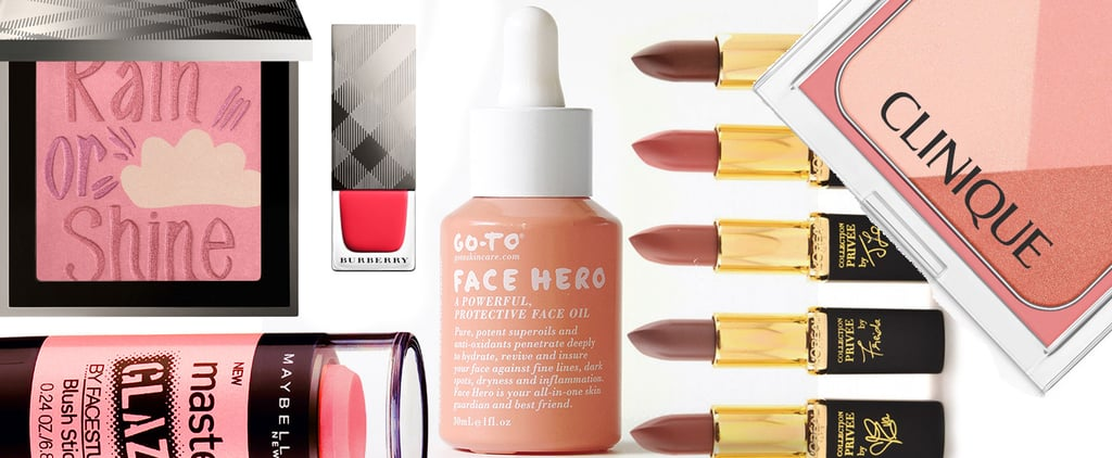 New Beauty Products On Counter February 2015