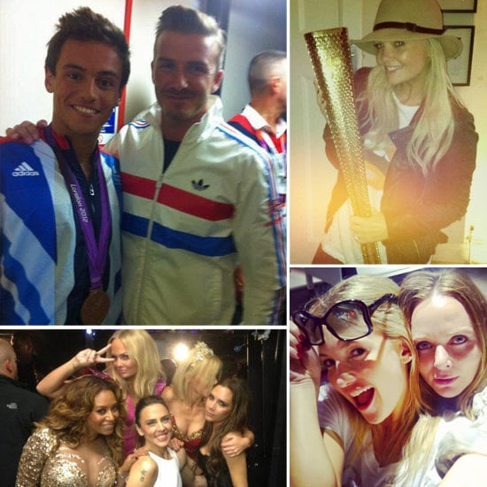 Celebrity Olympic Twitter and Instagram Pictures