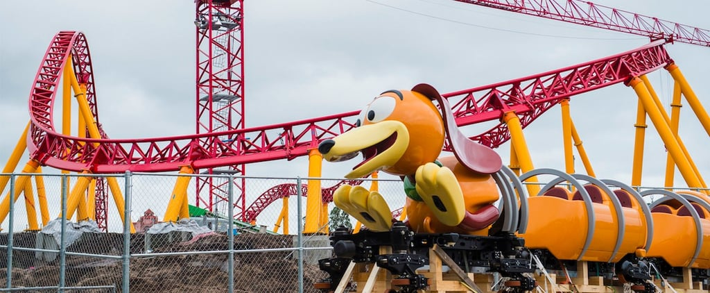 A Toy Story Slinky Dog Vehicle Has Arrived at Disney World's Hollywood Studios!