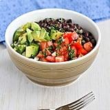 Easy Vegetarian Recipe: Vegetarian and Gluten-Free Rice Bowl