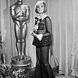 Barbra Streisand at the 1969 Academy Awards