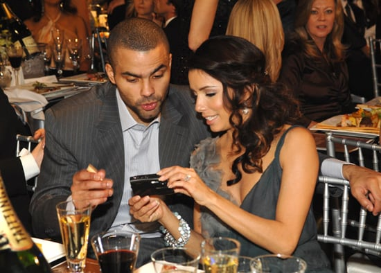Eva Longoria and Tony Parker Capture The Moment