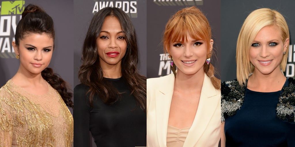 All the Beauty Looks From the 2013 MTV Movie Awards