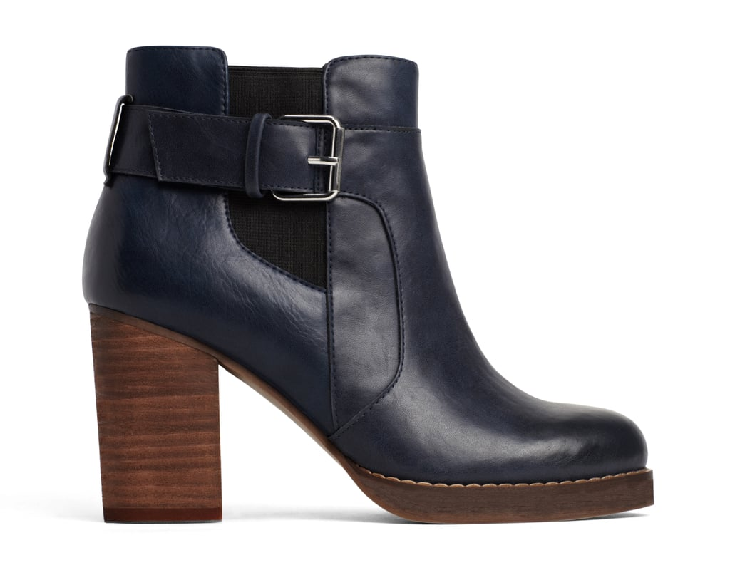 A+ Emery Navy Boots ($45)