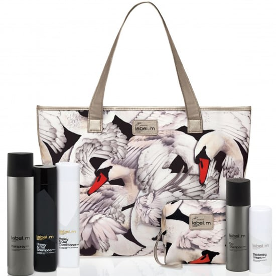 Label M Features Giles Deacon Swan Print in Collaboration