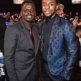 Pictured: Daniel Kaluuya and Chadwick Boseman