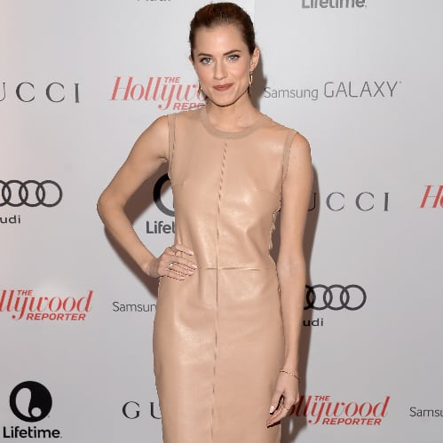 Allison Williams's Nude Dress at Hollywood Reporter Event