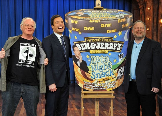 Jimmy Fallon Introduces Late Night Snack Ben and Jerry's Flavor