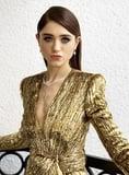Natalia Dyer s Smoky Eye at the SAG Awards Puts a Rocker Twist on Hollywood Glamour