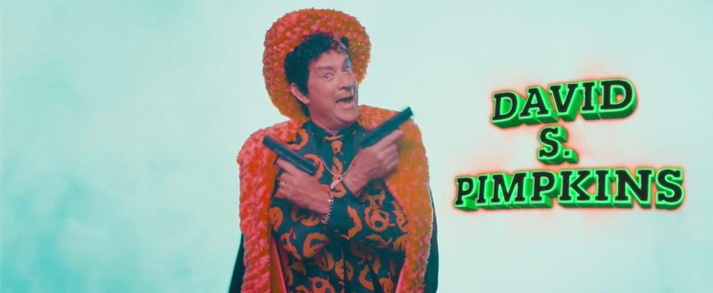 OMG Tom Hanks Just Revived David S. Pumpkins — With a Twist