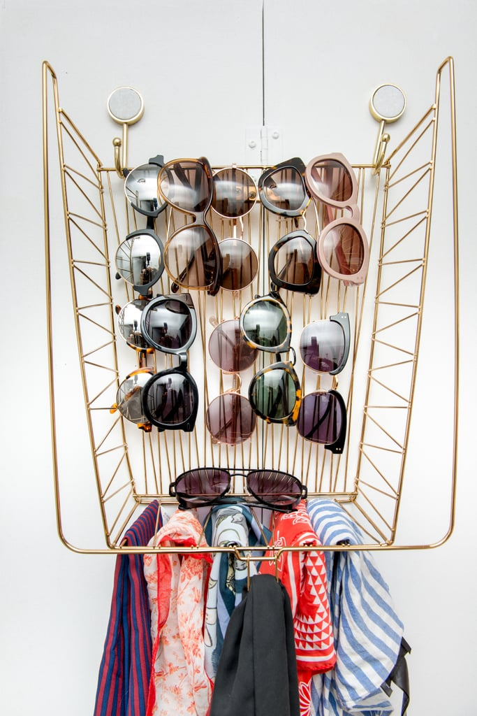 Add stylish organisers to display accessories.