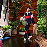 Pictures From Justin Bieber's Appearance on The Ellen Show