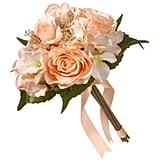 National Tree Company  Mixed Peach Rose and Hydrangea Bouquet