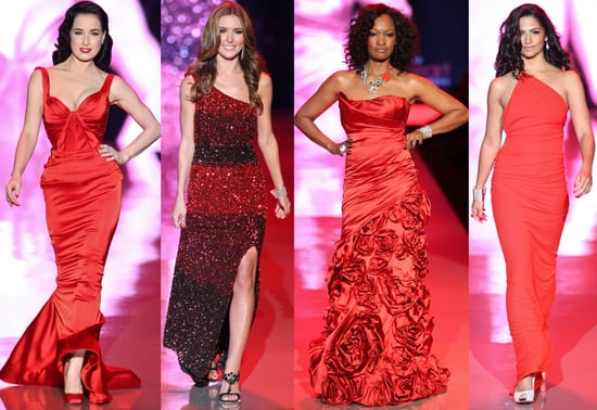 New York Fashion Week Heart Truth's Red Dress Collection Runway