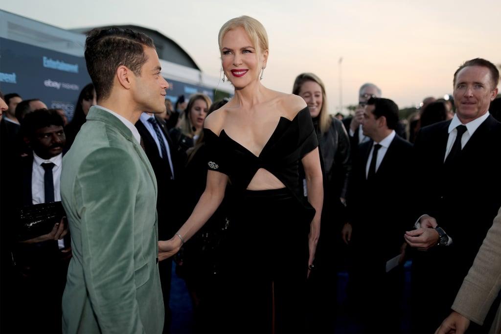Rami Malek and Nicole Kidman at the Critics' Choice Awards 2016
