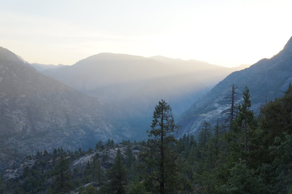 Yosemite's high country from its most challenging but beautiful side . . .