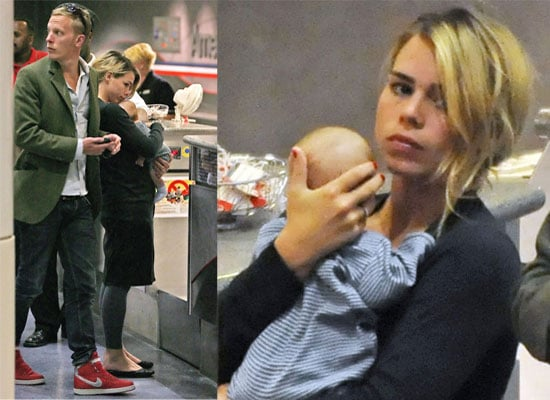Busy Mum Billie and Laurence Leave LA