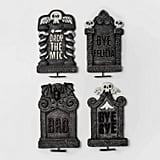 Traditional Tombstone Halloween Decor