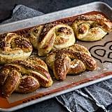 Garlic Herb Baked Pretzels