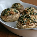 Appetizers: Vegan Stuffed Mushrooms