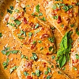 Skillet Chicken With Creamy Sun-Dried Tomato Sauce