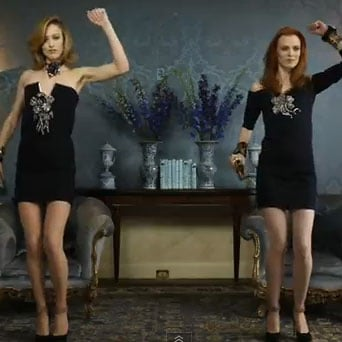 Lanvin Models Dance to Kinect Fall/Winter 2011 Video