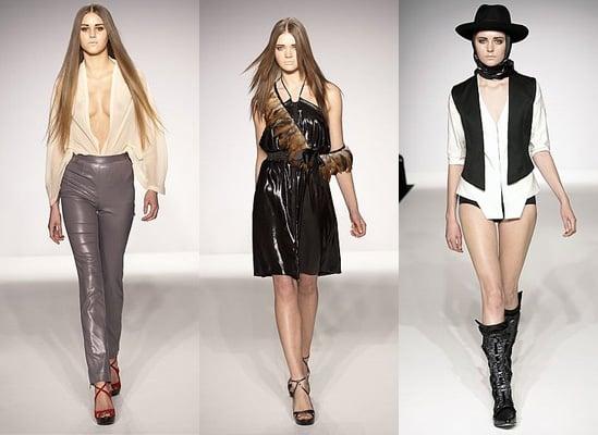 London Fashion Week A/W 2009: Bryce D'Anice Aime