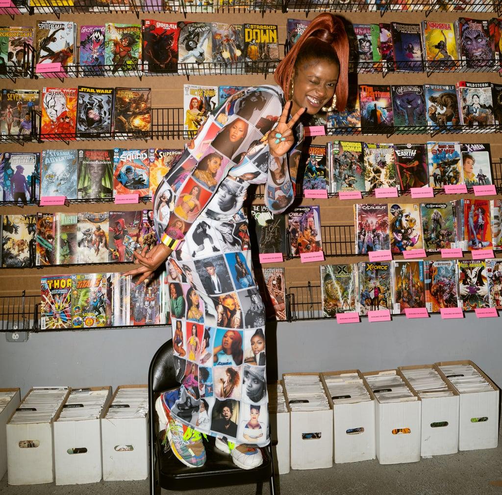 Tierra Whack Wears a Dress Dedicated to Black Women in Music