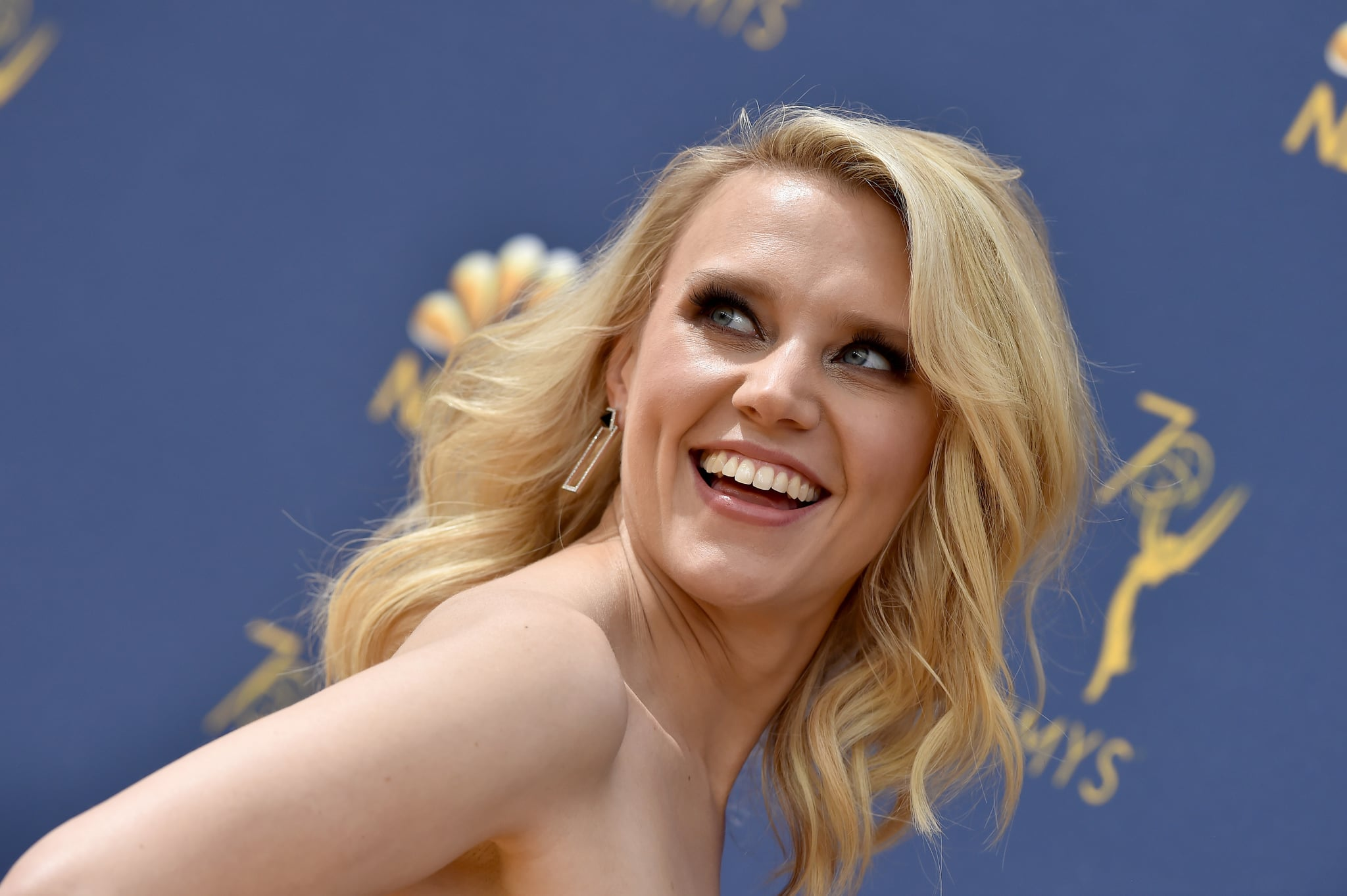 LOS ANGELES, CA - SEPTEMBER 17:  Kate McKinnon attends the 70th Emmy Awards at Microsoft Theater on September 17, 2018 in Los Angeles, California.  (Photo by Axelle/Bauer-Griffin/FilmMagic)