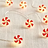 Peppermint Swirl LED Glimmer Strings