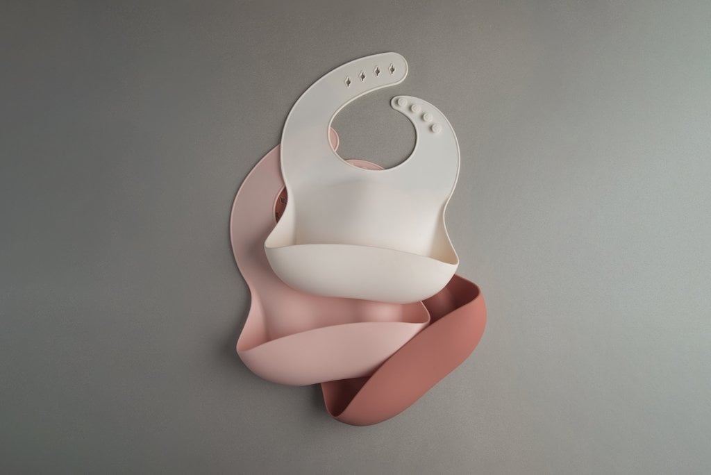 Loulou Lollipop Silicone Bibs