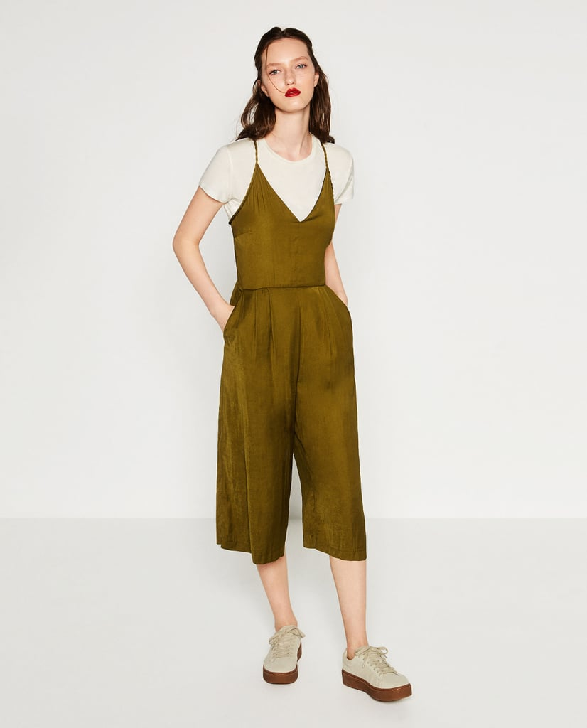 Zara Cropped Jumpsuit ($70)