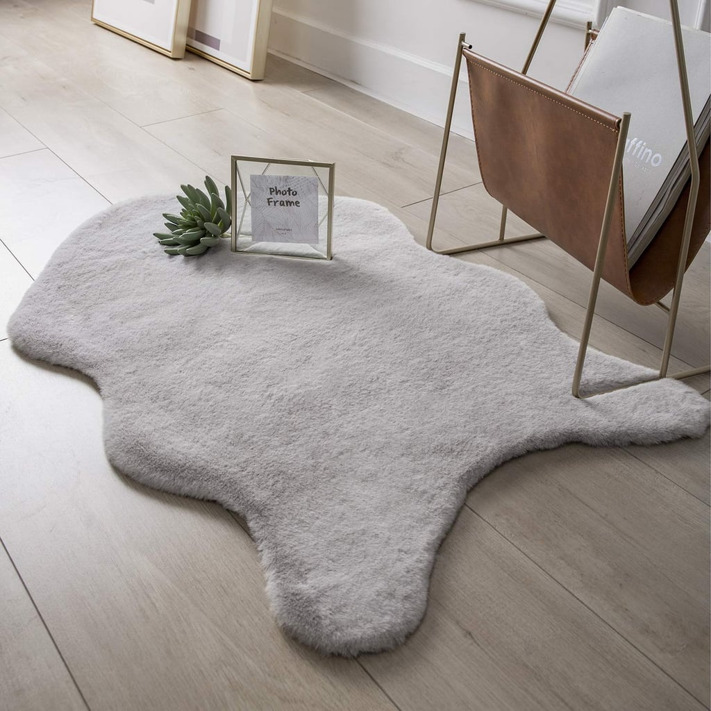 Ashler Soft Faux Fur Area Rug