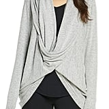 Nordstrom Hacci Knit Waterfall Cardigan