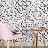 Black and White Spotty Speckle Wall Mural