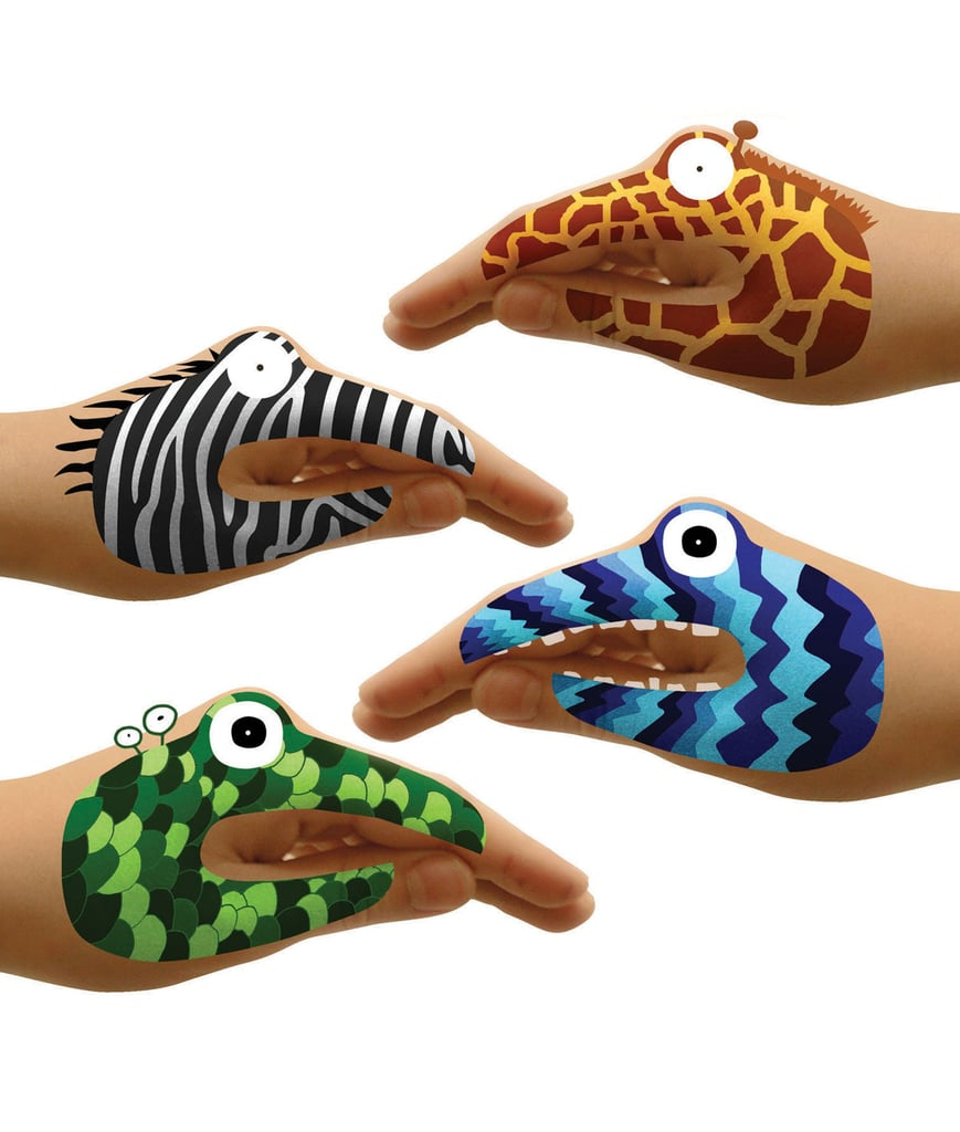 Animal and Monster Hand Tattoos