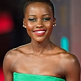 Lupita Nyong'o at the BAFTAs