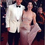 Peter Marc Jacobson and Fran Drescher