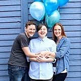"""Mom's """"It's a Boy"""" Photo Shoot For Son Who Came Out as Trans"""