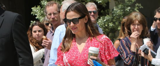 Ben Affleck and Jennifer Garner at Church on Easter 2019