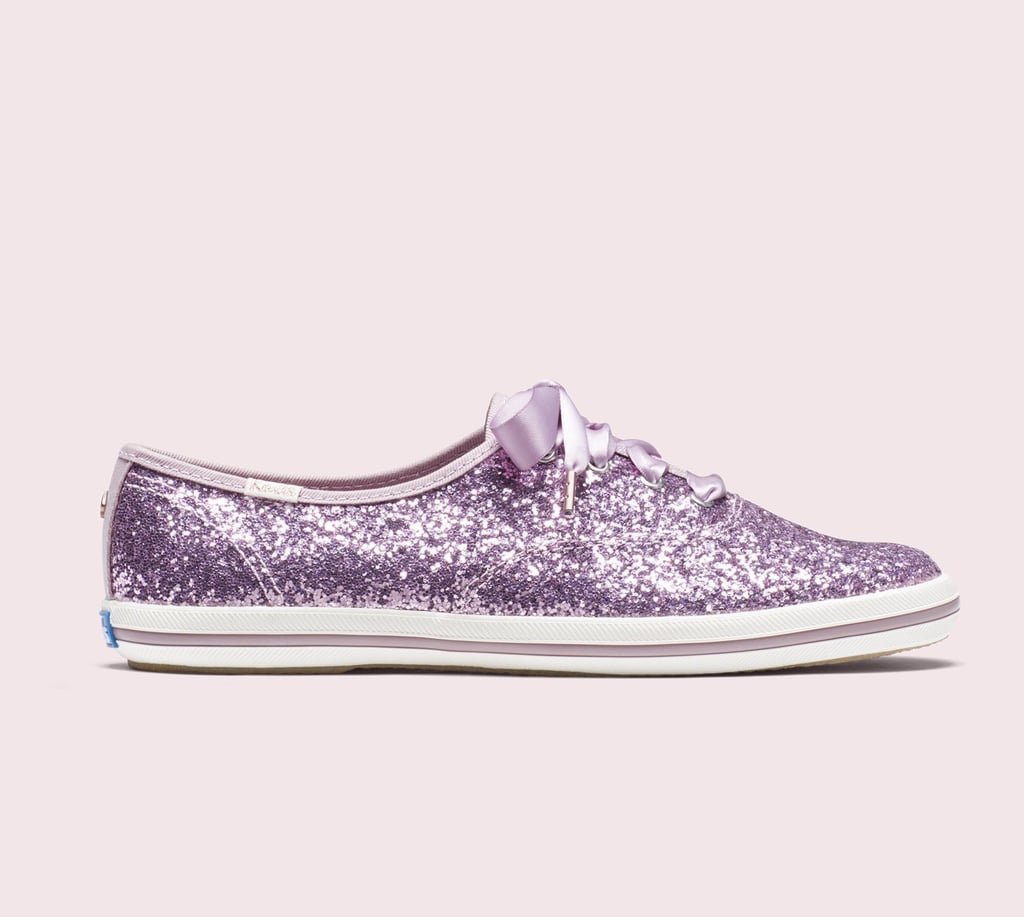 3ed2c0ae667 Keds x Kate Spade New York Champion Glitter Sneakers in Light Purple ...