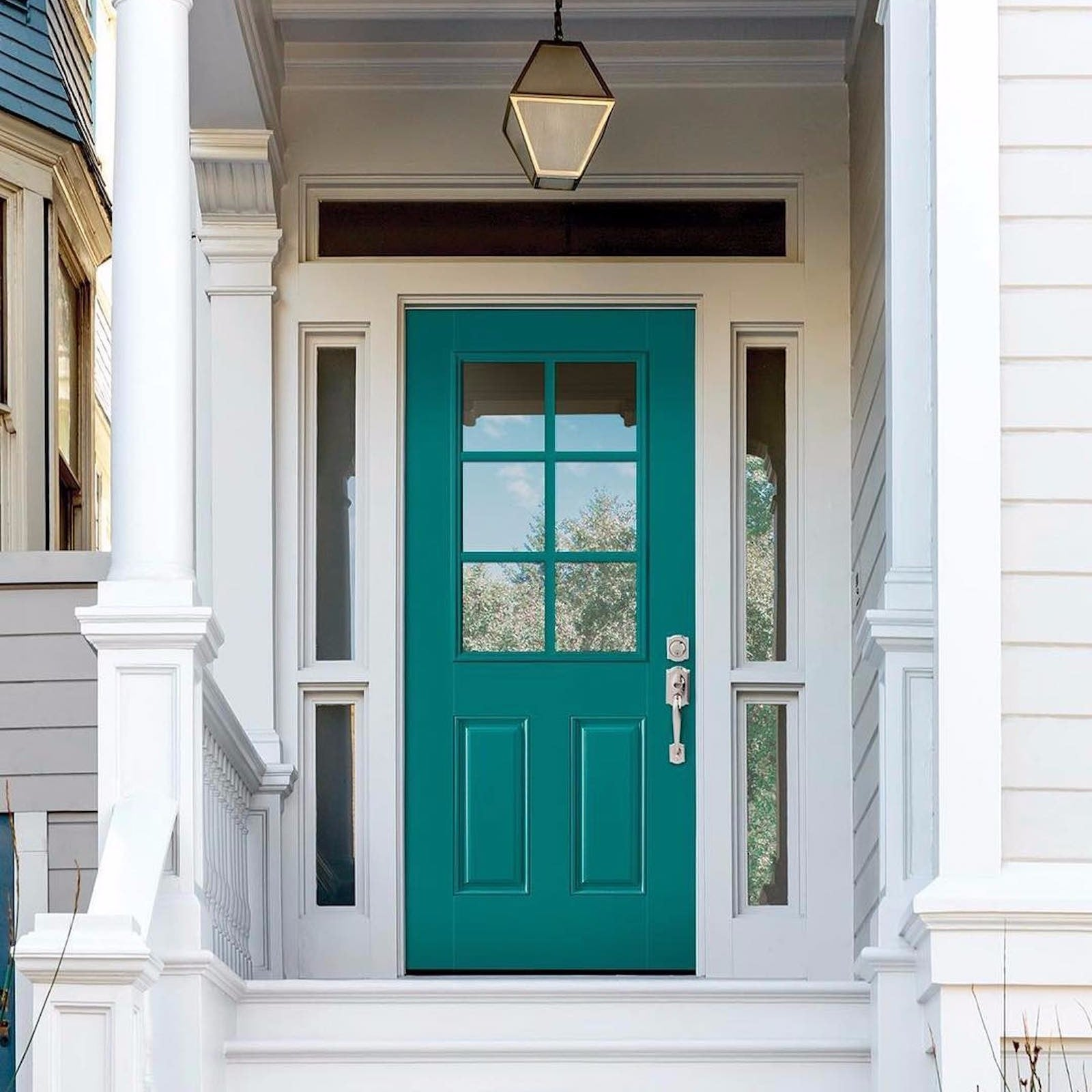 Painting The Front Door Popsugar Home Australia