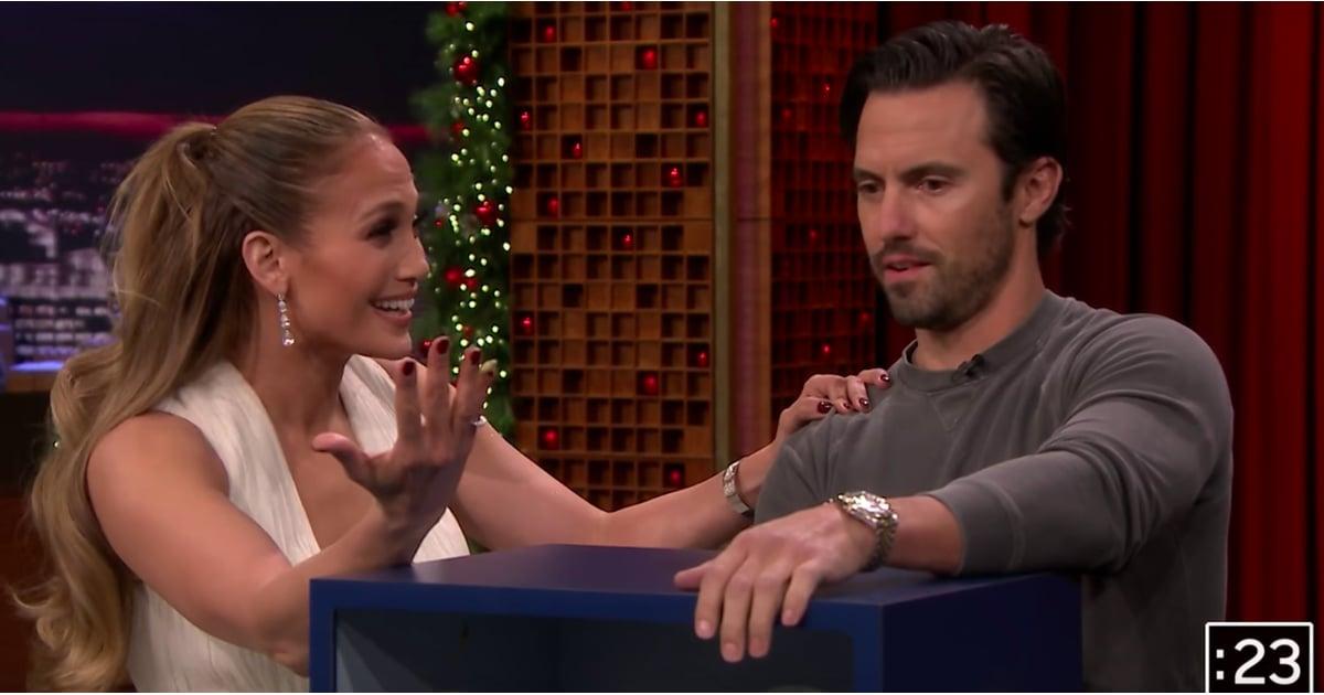 Jennifer Lopez And Milo Ventimiglia On The Tonight Show 2018 Popsugar Celebrity
