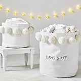 Emily & Meritt Canvas Pom Pom Storage