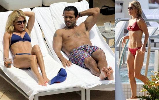 Bikini Photos of Kelly Ripa and Shirtless Photos of Mark Consuelos in Miami