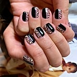 Nail Art Trend in London, England: Print Blocking