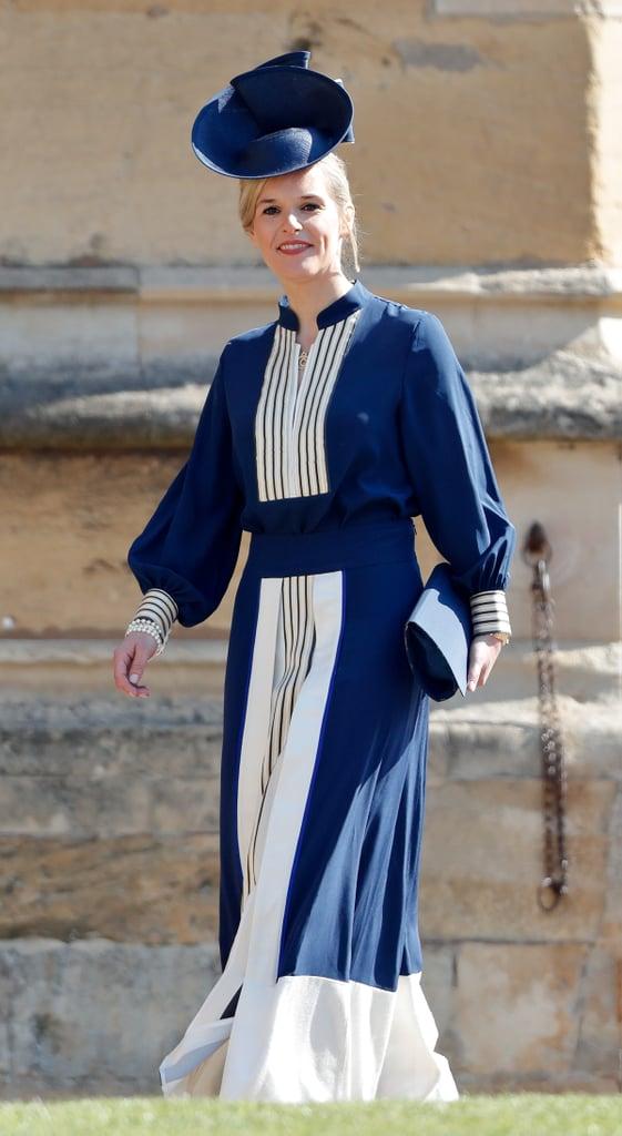 وبالطّبع، ظهرت صوفي بإطلالة أنيقة في حفل زفاف الأمير هاري وميغان ماركل أيضاً. إنّها صديقة داعمة بشكلٍ ملكيٍّ حقّاً!