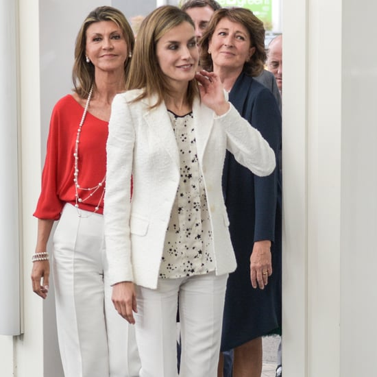 Queen Letizia's All-White Look September 2016